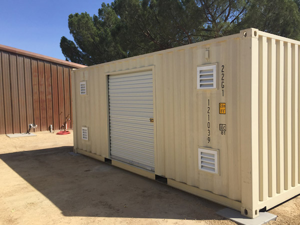Customer storage container