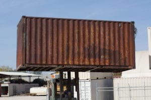 As is shipping container