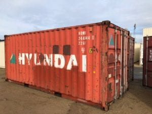 Wind and air tight shipping container