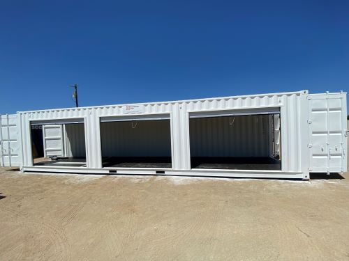 Shipping Container with 9 foot roll up doors