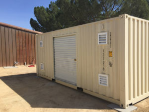 Shipping containers in Fresno, Ca - custom shipping container with side entry